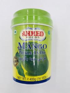 AHMED Mango Pickle (Muraturi de Mango) 400g