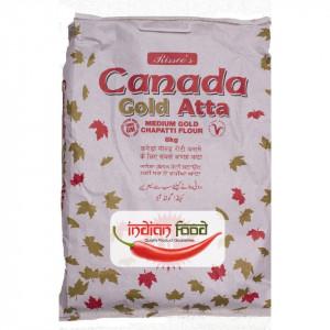 Canada Gold Chupatty Atta (Faina de Grau Indiana) 8kg