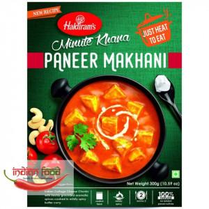 Haldiram Ready To Eat Paneer Makhani (Mancarica de Cas Dulce (Tofu) Sos de Curry cu Unt Mediu ) 300g