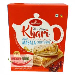 Haldiram's Khari Puff Masala (Foietaj Indian Usor Condimentat) 200g