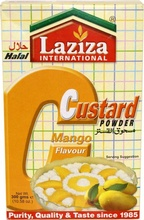 LAZIZA Custard Powder Mango (Budinca de Mango Semi-Preparata) 300g