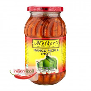 Mother's Recipe Mango Pickle Hot (Muraturi de Mango Picante) 500g