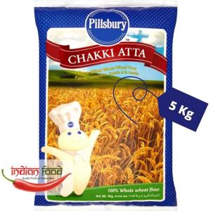 PILLSBURY Chakki Atta (Faina de Grau Indiana) 5kg
