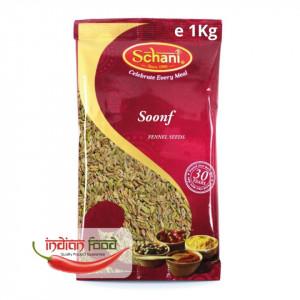 Schani Soonf Fennel Seeds (Seminte de Fenicul) 1kg