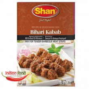 SHAN Bihari Kabab BBQ Mix (Condiment pentru Kebab si Gratar) 50g
