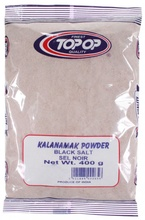 Top Op Kala Namak - Black Salt Powder (Sare Neagra) 400g