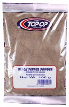 TOPOP Black Pepper Powder (Piper Negru Macinat) 100g