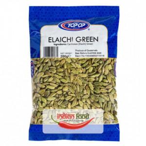TOPOP Elaichi - Green Cardamom (Cardamom Verde) 200g
