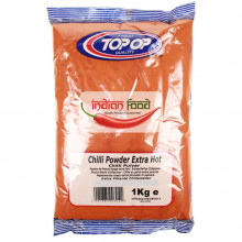 TopOp Red Chilli Powder Extra Hot (Boia Iute Rosie) 1kg
