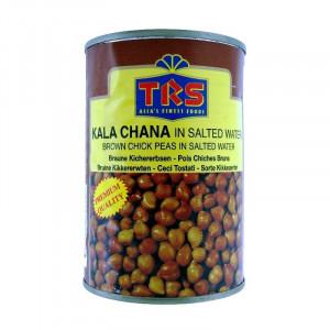 TRS Canned Boiled Kala Chana (Naut Maro cu Coaja Fiert Conservat) 400g
