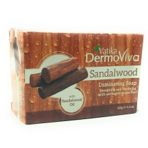 VATIKA DERMOVIVA Sandalwood Luminating Soap (Sapun cu Ulei de Lemn de Santal) 125g