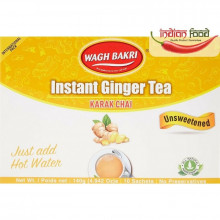 Wagh Bakri Instant Tea Ginger Un-Sweeted (Ceai Instant - 10 pliculete) 140g