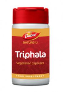 NAT4U Vegetarian Triphala (Triphala Capsule) 60 Capsules