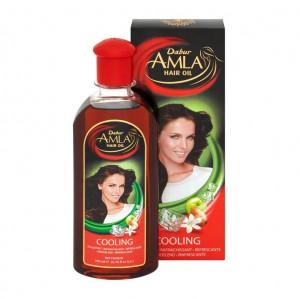 DABUR Amla Hair Oil Cooling (Ulei de Amla Racoritor, Menta si Lemn de Santal) 200ml