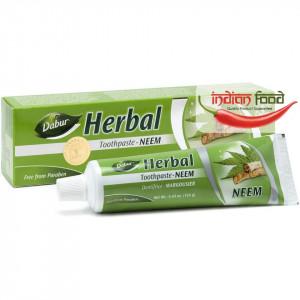DABUR Herbal Toothpaste Neem (Pasta de Dinti cu Neem) 100ml