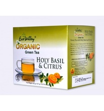 Eco Valley organic green tea (Holy Basil & Citrus) 25 tea bags