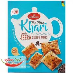 Haldiram's Khari Puff Jeera (Foietaj cu Seminte de Chimion) 200g