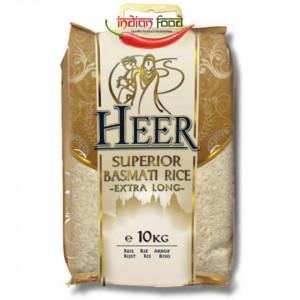 Heer Superior Basmati Rice Extra Long (Orez Basmati Bob Lung) 10kg