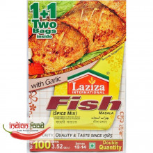 LAZIZA Fish Masala (Condiment pentru Peste Prajit) 100g