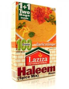LAZIZA Haleem Masala (Condiment pentru Linte si Carne) 100g