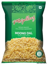 Mo'pleez Moong Dal (Snacks Indian din Linte Galbena Moong) 150g