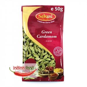 Schani Elaichi - Green Cardamom (Cardamom Verde) 50g