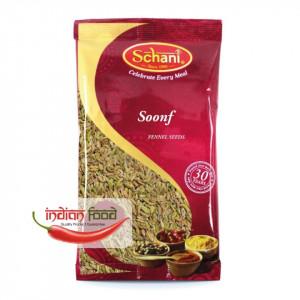 Schani Soonf Fennel Seeds (Seminte de Fenicul) 100g