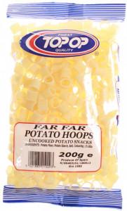 Top op Far Far Potato Hoops (Snacks Inele de Cartofi) 200g