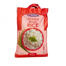 TOPOP Rice Ponni Raw (Orez Ponni Raw) 5kg