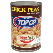 TopOp Canned Boiled Chick Peas (Naut Conservat) 400g