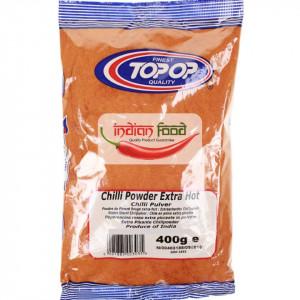 TopOp Red Chilli Powder Extra Hot (Boia Iute Rosie) 400g