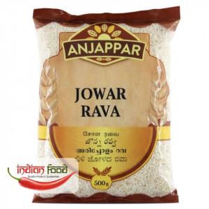 Anjappar Jowar Rava (Mei Alb Indian) 500g