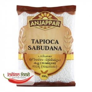 Anjappar Tapioca Sabudana (Perlute Tapioca) 300g
