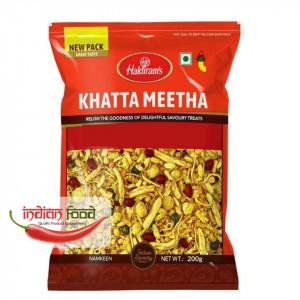 HALDIRAM Khatta Meetha (Snacks Indian Dulce-Picant) 200g