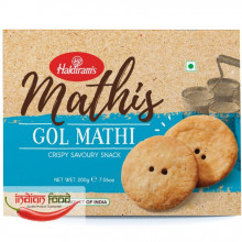 Haldiram's Gol Mathi (Snacks Crocant  Gol Mathi) 200g