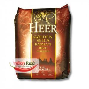Heer Golden Sella rice (Orez Indian Prefiert) 20kg