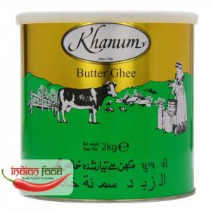 Khanum Butter Ghee (Ulei Indian - Unt) 2kg
