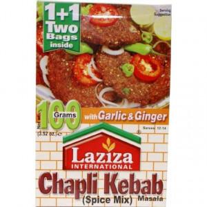 LAZIZA Chapli Kebab Masala (Condiment pentru Chiftelute) 100g