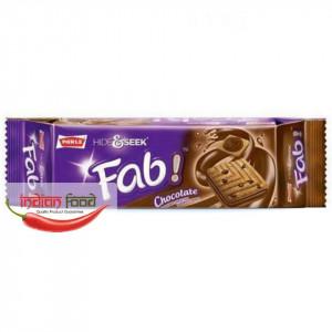 PARLE Hide & Seek Fab Chocolate (De-a v-ati ascunselea Biscuiti Aroma si Fulgi de Ciocolata) 112g