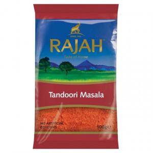 Rajah Tandoori Masala (Condiment pentru Carne la Gratar/Cuptor) 100g