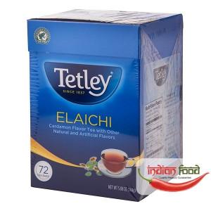 Tetley Elaichi Round 72 Tea Bags (Ceai de Cardamom cu Alte Arome Naturale/Artificiale) 72 pliculete