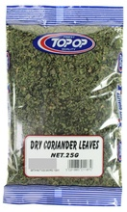 TOPOP Dry Coriander Leaves (Frunze de Coriandru) 25g