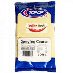 Topop Semolina Coarse (Faina Integrala dura de Semolina) 500g