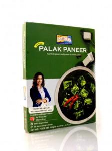 ASHOKA Heat & Eat Palak Paneer (Mancare de Spanac cu Cas Dulce Indian) 280g