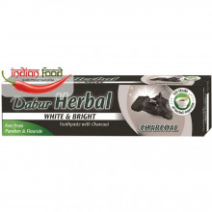 DABUR Herbal Toothpaste Charcoal (Pasta de Dinti cu Carbune Activ Ghimbir+Piper lung+Piper negru) 100ml
