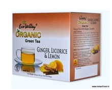 Eco Valley organic green tea (Ginger, Licorice and Lemon) 25 tea bags