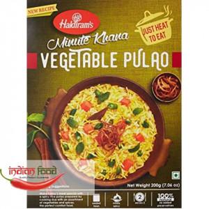Haldiram's Ready To Eat Veg Pulao (Mancare de Orez cu Legume Mediu) 200g