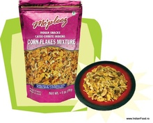 Mo'pleez Corn Flakes Mix (Snacks Indian Mixt cu Fulgi de Porumb ) 150g