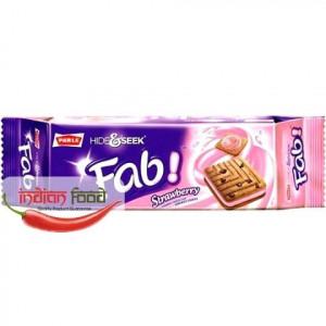 PARLE Hide & Seek Fab Strawberry (De-a v-ati ascunselea Biscuiti Aroma de Capsuni si Fulgi de Ciocolata )112g