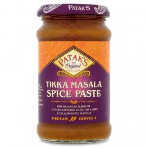 PATAK'S Tikka Spice Paste Medium (Pasta Tikka Mediu) 283g